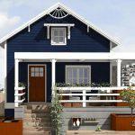 Casa interesanta din lemn
