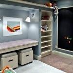 Amenajarea biroului in camera copiilor