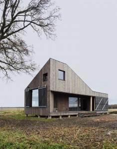 Casa din Lemn Moderna